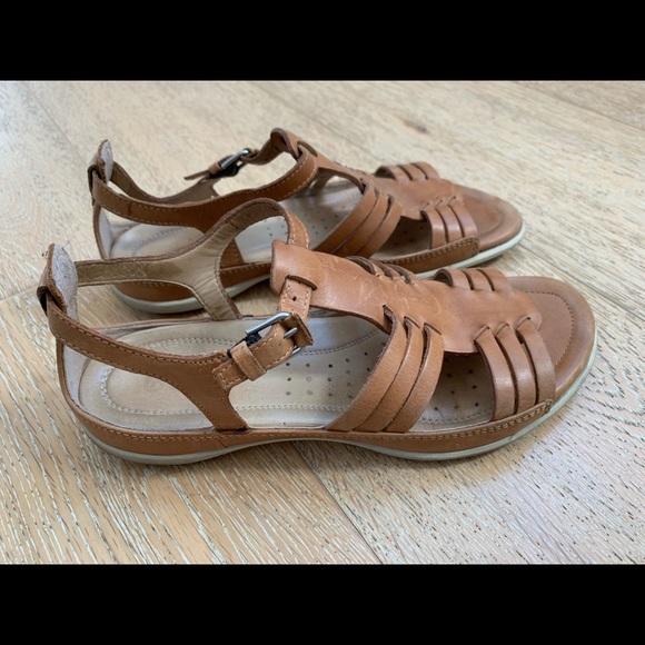 "44a8a739122d Ecco Shoes - Ecco ""flash"" huarache sandals in Lion"